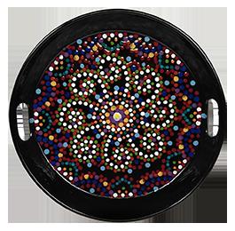 Vorhees Mosaic Mandala Tray