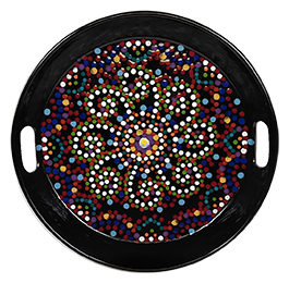 Voorhees Mosaic Mandala Tray