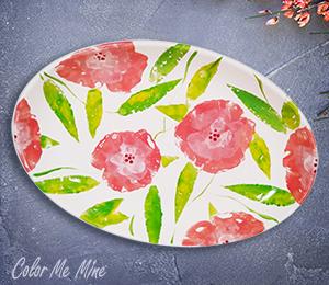 Voorhees Floral Paper Stamping