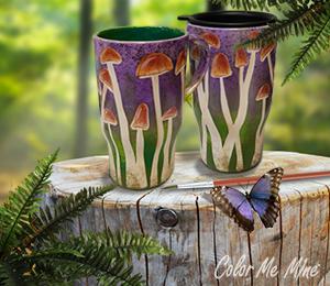 Voorhees Mushroom Mugs