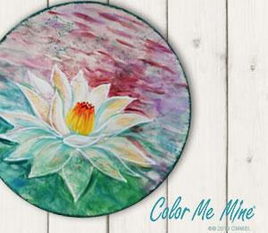 Voorhees Lotus Flower Plate