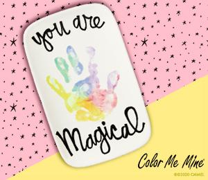 Voorhees Rainbow Hand-print