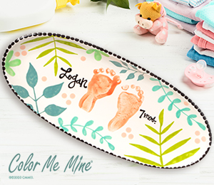 Voorhees Tropical Baby Tray