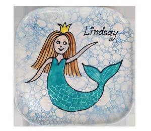 Voorhees Mermaid Plate