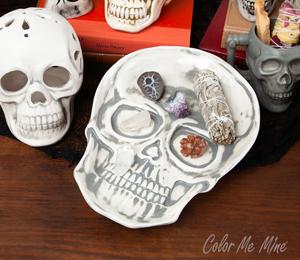 Voorhees Vintage Skull Plate