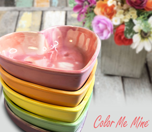 Voorhees Candy Heart Bowls