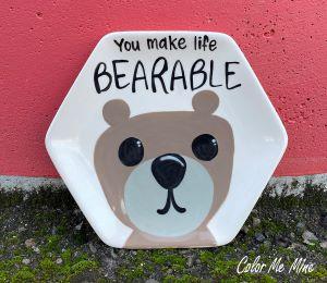 Voorhees Bearable Plate