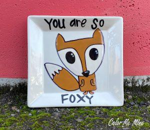 Voorhees Fox Plate