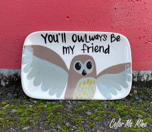 Voorhees Owl Plate