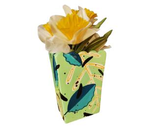 Voorhees Leafy Vase