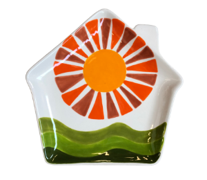 Voorhees Sunshine Day Plate