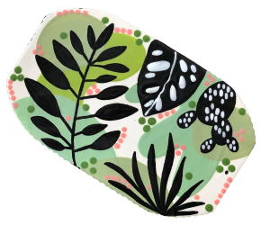 Voorhees Leafy Charcuterie Board