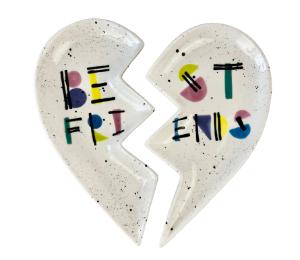 Voorhees Best Friends Plate Set