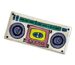 Voorhees Boombox Tray