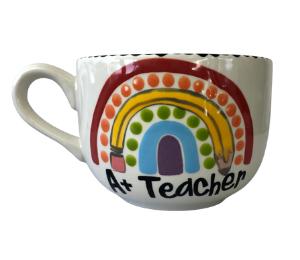 Voorhees Polka Dot Rainbow Mug